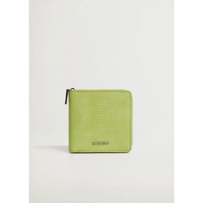 財布 .-- MODA (ブライトグリーン)