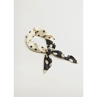 スカーフ .-- LALO (ナチュラルホワイト)
