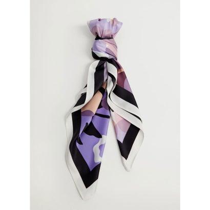 スカーフ .-- SPRING (パステルパープル)