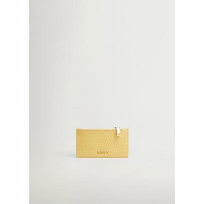 カードケース .-- AGUSTIN (イエロー)