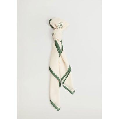 スカーフ .-- CARE (ナチュラルホワイト)