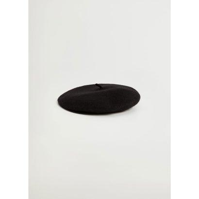 ベレー帽 .-- PARIS (ブラック)