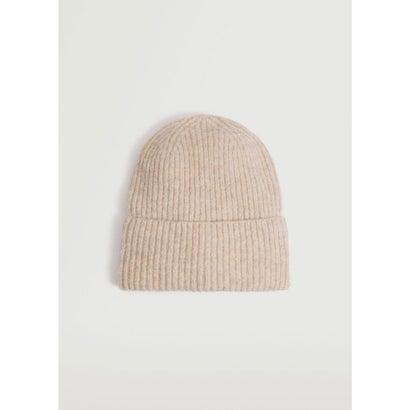 ニット帽 .-- BEA (パステルブラウン)