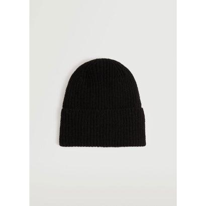 ニット帽 .-- BEA (ブラック)