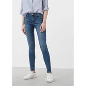 MANGO Skinny Olivia jeans (open blue)