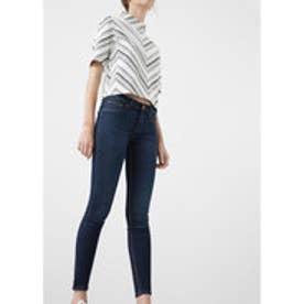 MANGO Kim skinny push-up jeans (open blue)