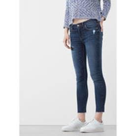 MANGO Isa skinny jeans (open blue)