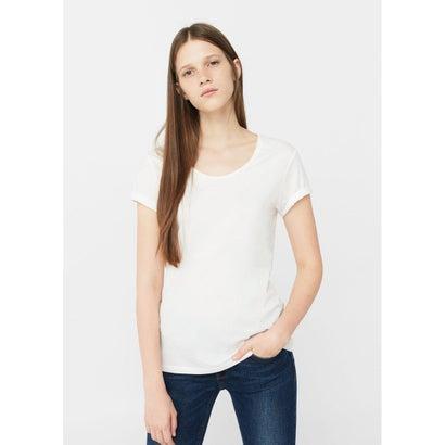 T-シャツ . CHALA (ホワイト)