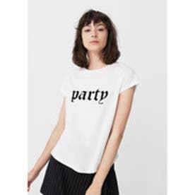 T-シャツ . PARTY (ホワイト)
