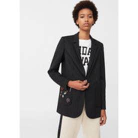 スーツ ジャケット . DUPLEX (ブラック)