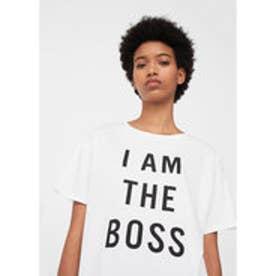 T-シャツ . BOSS (ホワイト)