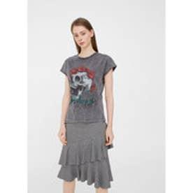 Tシャツ CALAVERA (ダークグレー)