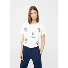 Tシャツ .-- PATCH (ホワイト)
