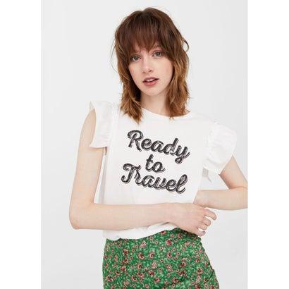 Tシャツ .-- TRAVEL (ナチュラルホワイト)