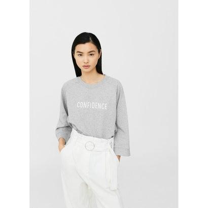 スウェットシャツ .-- COMBI (ミディアムグレー)