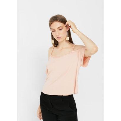 Tシャツ .-- MERCH (パステルピンク)