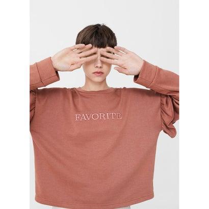 スウェットシャツ .-- DEAR (ピンク)