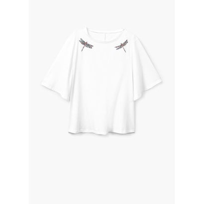 Tシャツ .-- JEWEL (ホワイト)