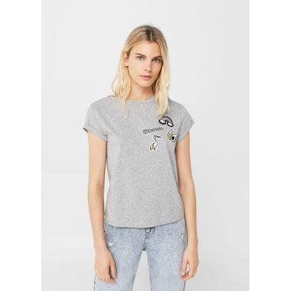 Tシャツ .-- PELICAN-H (グレー)