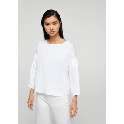 Tシャツ .-- FLAME (ナチュラルホワイト)