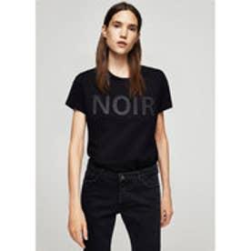 Tシャツ .-- GLITTER (ブラック)