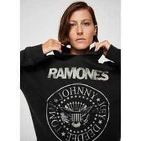 フーディー .-- RAMONES (チャコール)