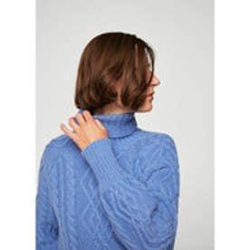 セーター .-- BEATRICE (ミディアムブルー)