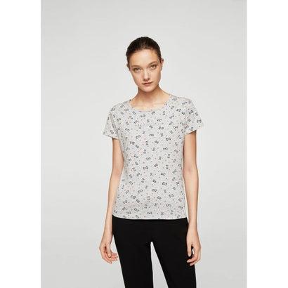 Tシャツ .-- MANGOHU-H (ミディアムグレー)