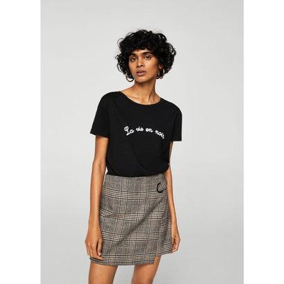Tシャツ .-- NOIR-A (ブラック)