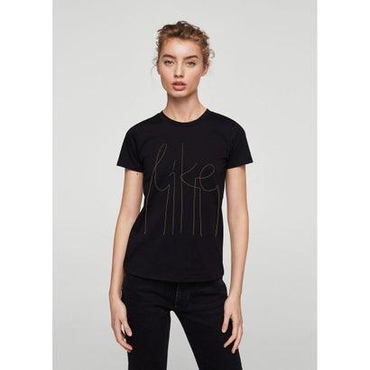 Tシャツ .-- CHAINS (ブラック)
