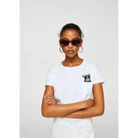 Tシャツ .-- DANA-H (ホワイト)