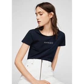 Tシャツ .-- MANGOLOG-H (ネイビーブルー)