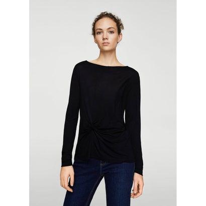 Tシャツ .-- ANUDADO (ブラック)