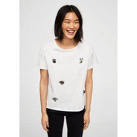 Tシャツ .-- BICHI (ホワイト)