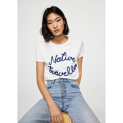 Tシャツ .-- NATIVE (ホワイト)