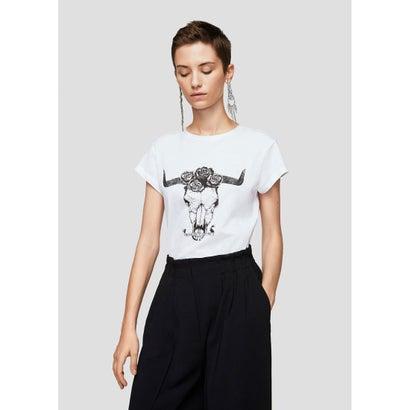 Tシャツ .-- ILUSTRA (ホワイト)