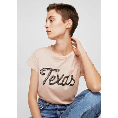 Tシャツ .-- ILUSTRA (ピンク)