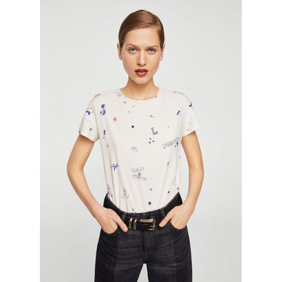 Tシャツ .-- CHALOVER (ミディアムブルー)