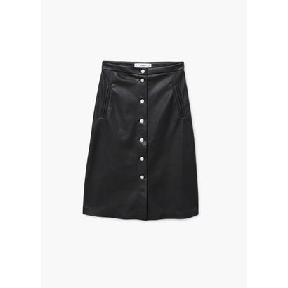 スカート .-- MIDI (ブラック)