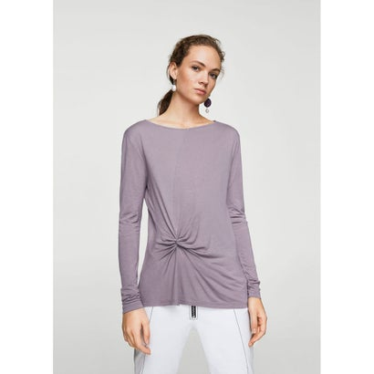 Tシャツ .-- ANUDADO (パステルパープル)