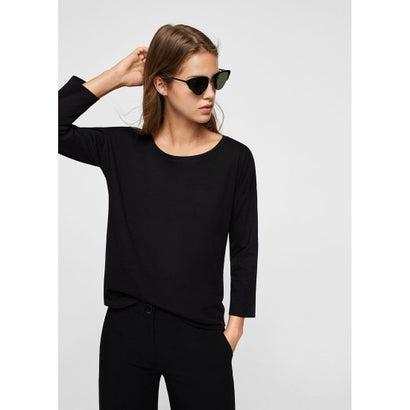 Tシャツ .-- SACO (ブラック)