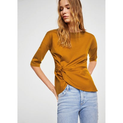 Tシャツ .-- PARISEN (ミディアムイエロー)