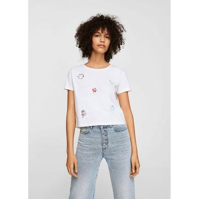 Tシャツ .-- ARO-H (ナチュラルホワイト)