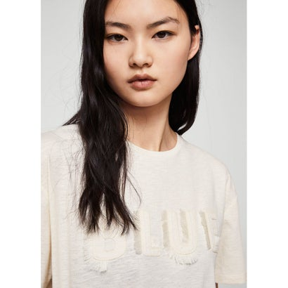 Tシャツ .-- RUSTIC (ナチュラルホワイト)