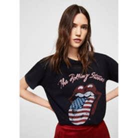 Tシャツ .-- ROLLINGS (ブラック)