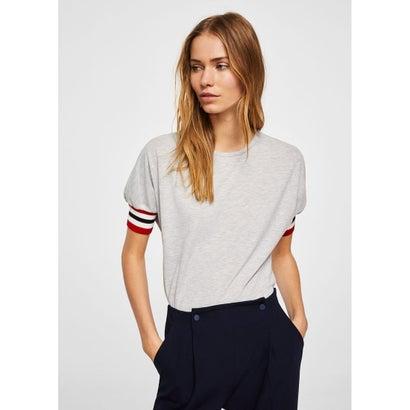 Tシャツ .-- RIBIN (ミディアムグレー)