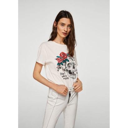 Tシャツ .-- STRASS (ホワイト)