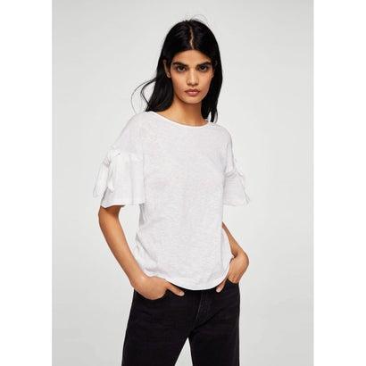 Tシャツ .-- LINOIS (ナチュラルホワイト)