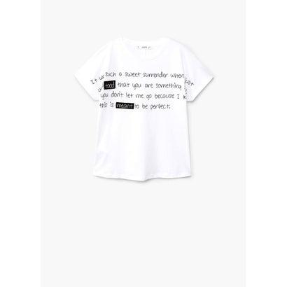 Tシャツ .-- MAIL (ナチュラルホワイト)