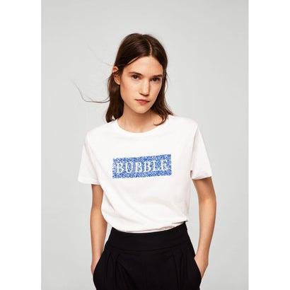 Tシャツ .-- SUNDAY (ナチュラルホワイト)